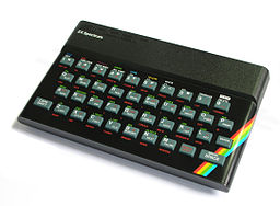 Photo of a Sinclair ZX Spectrum 48K